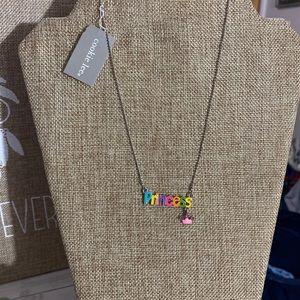 Cookie lee/viva silver necklace